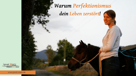 Perfektionismus zerstört dein Leben