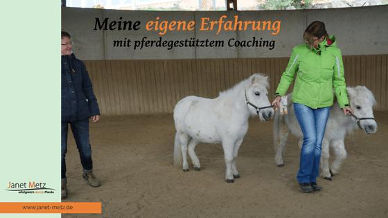 Janet Metz pferdegestütztes Coaching