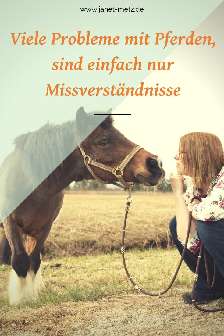Probleme mit Pferden sind einfach nur Missverständnisse